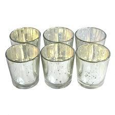 mercury glass candle holders silver mercury glass gold mercury glass votive candle holders bulk