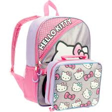 16 san rio o kitty full size backpack w detachable lunch bag walmart