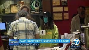 Amid new LA County mask mandate ...