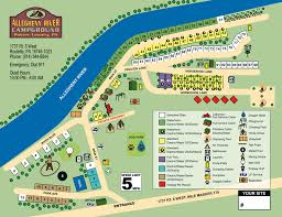 allegheny river cground site map