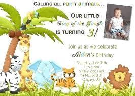 Safari Party Invitations Safari Birthday Invitations Invitation Template Cafe322 Com