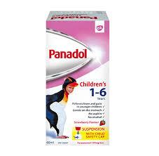 Panadol Childrens Suspension 1 6 Years Panadol