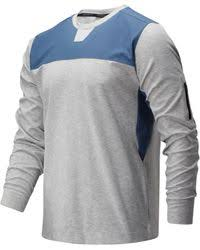 New Balance Synthetic <b>Fortitech Short Sleeve</b> in Stone Blue (Blue ...