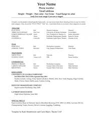Resume Template On Word 2010 Enchanting BistRun Resume Template Word Resume Template Example Blank Cv