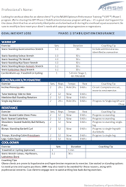 Fitness Program Design Personal Trainers Workout Ideas For An Obese Client Nasm Blog Workout