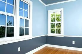 painting two tone walls with chair rail best toned ideas living room grey paint