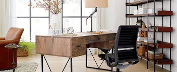 crate and barrel office furniture. Modern Office Furniture, Including A Wooden Desk, Bookshelves And Leather Chair Crate Barrel Furniture