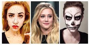 lili reinhart halloween face makeup insrams lili reinhart special effects makeup artist posts