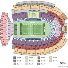 Ohio State Buckeyes Stadium Seating Chart Ohio State Football Stadium Map