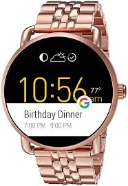 Fossil Q Wander Digital Multi-Colour Dial Women's Watch