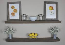 Rustic Kitchen Shelving Solid Built Rustic Floating Shelf Floating Shelf Kitchen Shelf