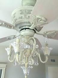 white chandelier fan ceiling fan with chandelier light kit white fan with light crystal bead