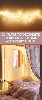 Fairy Lights Bedroom Ideas Kids Hanging Wall Lamps Diy Room Decor