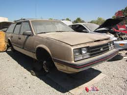 Junkyard Find: 1985 Chevrolet Celebrity Eurosport Wagon - The ...