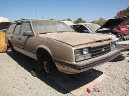 Junkyard Find: 1985 Chevrolet Celebrity Eurosport Wagon - The ...