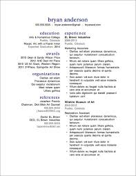 Resume Guide 17 Two Column
