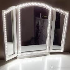 vanity strip lighting. Led Vanity Mirror Lights Kit 4m Light Strip 240 Leds Soft Daylight White With Dimmer And Power Supply For Makeup Dressing Table Outdoor Lighting .
