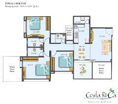 costa rica home floor plans sea