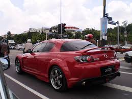 mazda rx8 modified red. red mazda rx8 rx8 modified r