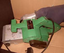 hitachi belt sander. image is loading hitachi-100mm-sb-10-t-belt-sander-240v- hitachi belt sander
