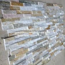 stone wall decor riven black slate decorative