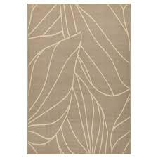 LBORG rug, low pile, beige Length: 6 ' 5