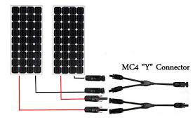 how to set up a basic solar energy system in 4 easy steps Wiring Up A Solar Panel notice how easy connecting 2 solar panels in parallel is? everything just plugs together easily! wiring up a solar panel to house
