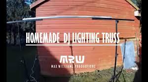 Diy Stage Lighting Rig How To Make A Cheap Dj Lighting Goal Post Truss