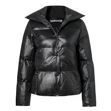 Casual Oversize Parkas Suede Leather Quilted Jackets Button ... & Casual Oversize Parkas Suede Leather Quilted Jackets Button Women's Padded  Coats Autumn Winter Outerwear Adamdwight.com