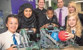 Scientific Students Power Up For Fun With Robots Achieving More