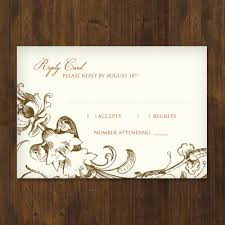 wedding rsvp postcards templates fall harvest wedding rsvp template download print