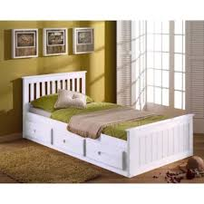 kids single bed with storage. Wonderful With 3FT SINGLE PINE KIDS CHILDRENS CAPTAIN CABIN STORAGE BED IN A WHITE FINISH  Amazoncouk Kitchen U0026 Home Intended Kids Single Bed With Storage S