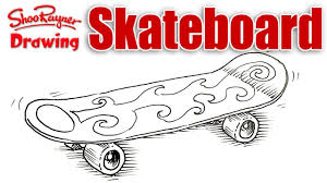 Easy To Draw Skateboard Designs 35 Immortal How To Draw Skateboard