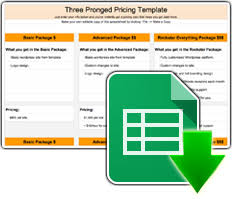Pricing Template Three Tier Pricing Strategy How It Works With Template And Generator