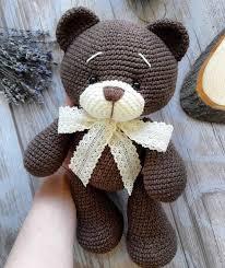 Crochet Bear Pattern Custom Crochet Bear Amigurumi Pattern Amiguroom Toys