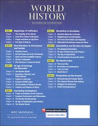 Pattern Of Interaction Simple Holt World History Pattern Of Interaction Package Holt Rinehart