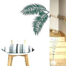 tropical wall decor outdoor tropical wall decor metal palm tree outdoor wall art leaves decal tropical