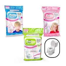 toilet seat covers 6 disposable xl potty seat covers by potty shields itsy bitsy