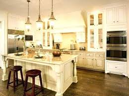 off white kitchen cabinets dark with wood countertops
