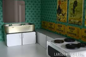 dollhouse furniture diy. DIY Dollhouse Kitchen With Handmade Sink, Cabinets, Appliances Furniture Diy