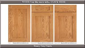 650 honey oak finish cabinet door style