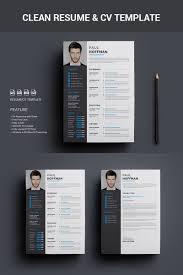 Designer Resume Templates Resume Cv Paul Hoffman Resume Template