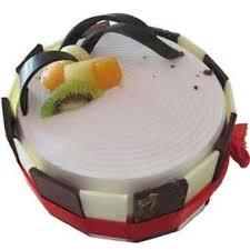 1 Kg Eggbased Fresh Fruit Cake Delivery To Kolkata At Midnight