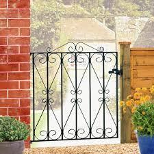 regent wrought iron garden gate