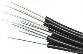 fiber optic cables are strands of glass or plastic that transmit light