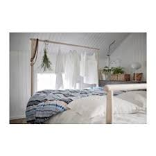 GJÖRA Bed frame - Full/Double, Espevär mattress base - IKEA