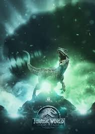 JURASSIC WORLD: BLUE Poster created by ...