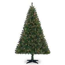 6 Ft PreLit Green Full Windham Spruce Artificial Christmas Tree Pre Lit Spruce Christmas Tree