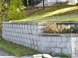 cinder block garden wall. Building Garden Retaining Walls A Wall With Concrete Blocks Cinder Block I