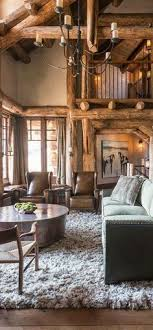 cabin living room decor. love this look/designers general portfolio. mountain home ski chalet decor pearson design group: architecture, master planning \u0026 interior cabin living room